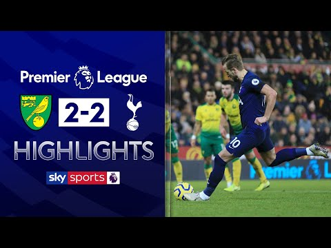 VAR controversy, own goal & a penalty in dramatic 4-goal draw! | Norwich 2-2 Spurs | EPL highlights