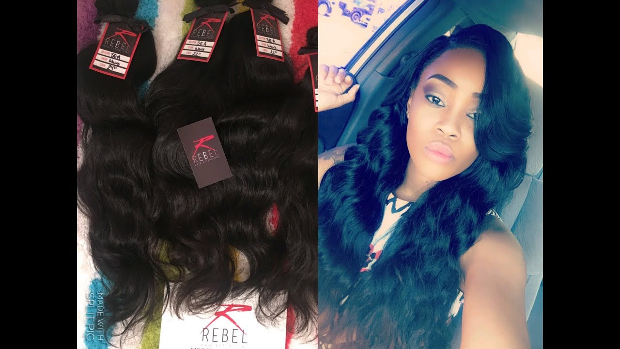 Rebel Hair Extensions South East Asian Wavy Youtube