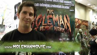 Moleman of Belmont Avenue at Flashback Weekend Chicago 2011 filmed by Chateau GRRR