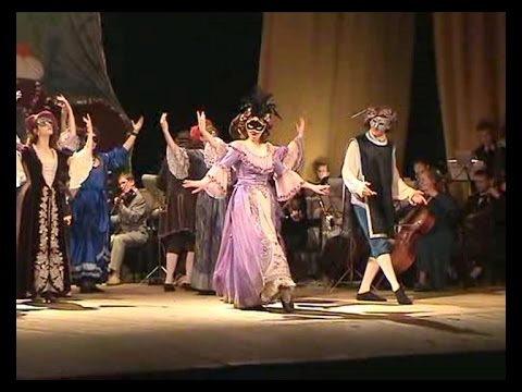 «Венецианский карнавал» из оперы-балета «L'Europe Galante» (1697). ТСМ, 2008