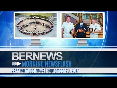 Bernews Morning Newsflash For Wednesday, September 20, 2017