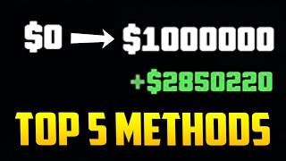 Top 5 Ways to Make Money in GTA Online! (Best & Most Fun Methods)