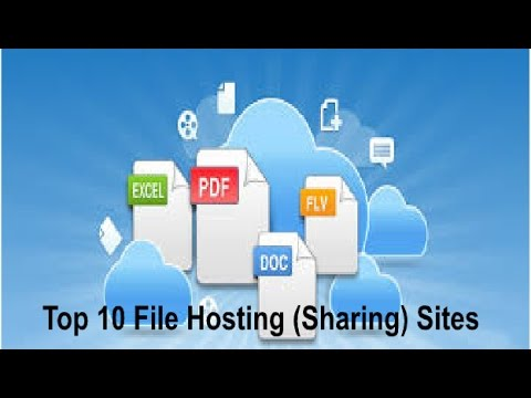 Top 10 File Hosting Sharing Sites in 2017