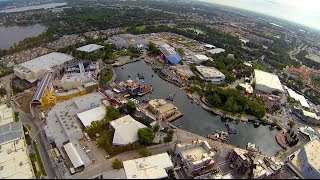 Universal Orlando Resort Helicopter Tour, Universal Studios Florida, Islands of Adventure