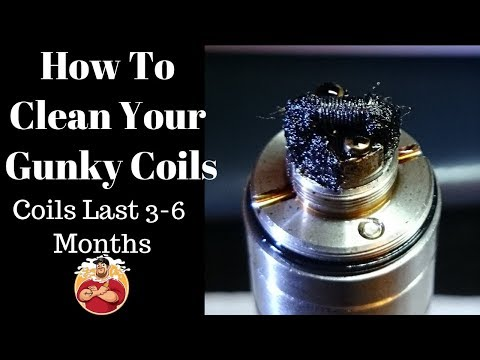 Vaping Tips & Tricks Series #1 How To Clean Your Gunky Coils {Lasting 3-6 Months}