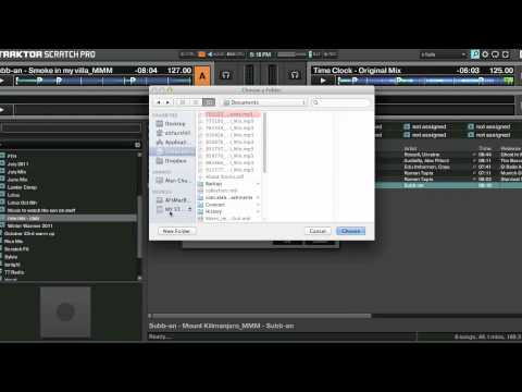 Export music to USB for Traktor