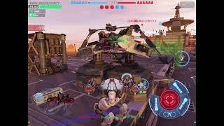【WarRobots】ジパ2隊 vs 紫電 ~2連戦~【分隊戦】