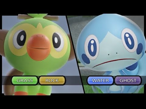 What Types Are The Starters In Pokemon Sword And Shield Youtube
