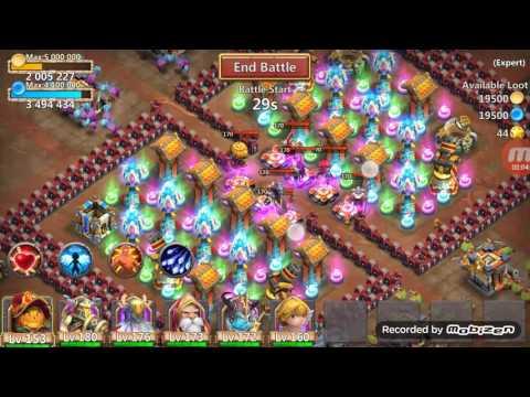 Castle Clash Expert Dungeon 7-5 Smurf (FTP)