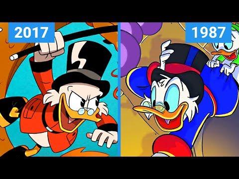 DuckTales 2017 VS 1987  Title Comparison
