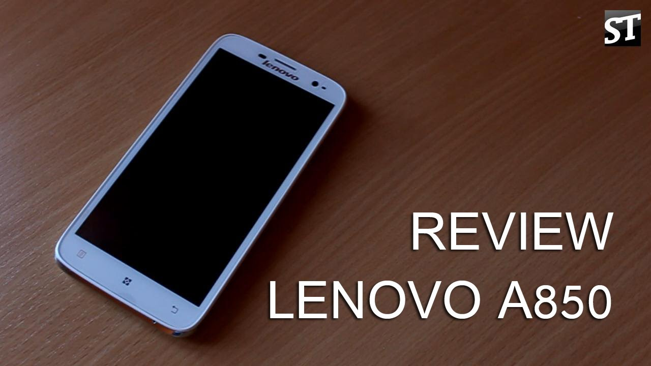 Lenovo A850 review [ENG] DHgate - YouTube