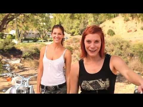 LAMFF  Live to Ride, Ride to Lunch! With Tricia Helfer and Katee Sackhoff