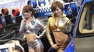 名古屋オートトレンド2014 キャンギャル特集11 ゴールドとシルバーのセ...