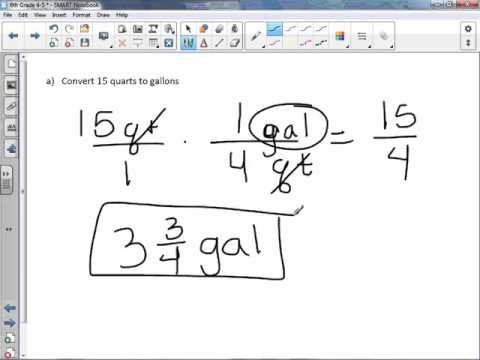 6th Grade 4-5: Convert Measurement Units