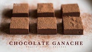 焼き菓子よりも断然簡単、生チョコの作り方:How to make Chocolate Ganache | Veggie Dishes by Peaceful Cuisine