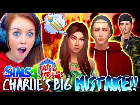 😱CHARLIE WHAT HAVE YOU DONE!?💔 (The Sims 4 CATS & DOGS #6🏖)