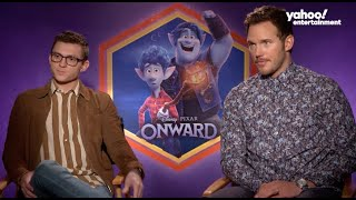Baixar Tom Holland and Chris Pratt on their movie 'Onward' being an emotional journey