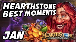 Hearthstone Best Moments | January
