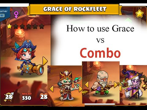 How to use Grace of Rockfleet - Mighty Party - NDL Gamer |