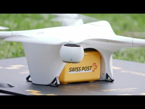 Swiss Post's Matternet drone delivers lab samples between hospitals