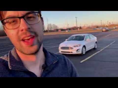 2019 Ford Fusion Energi Titanium Plug in Hybrid Tour and Review
