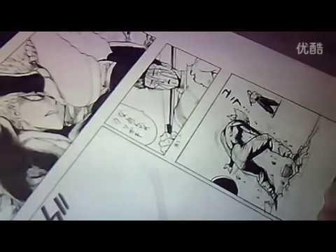 Yusuke Murata - Live Drawing #43 Garou vs Metal-bat