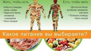 Что важно знать о здоровом питании?