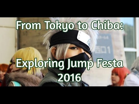 Attending an Anime Convention in Japan: Jump Festa 2016 [ジャンプフェスタ]