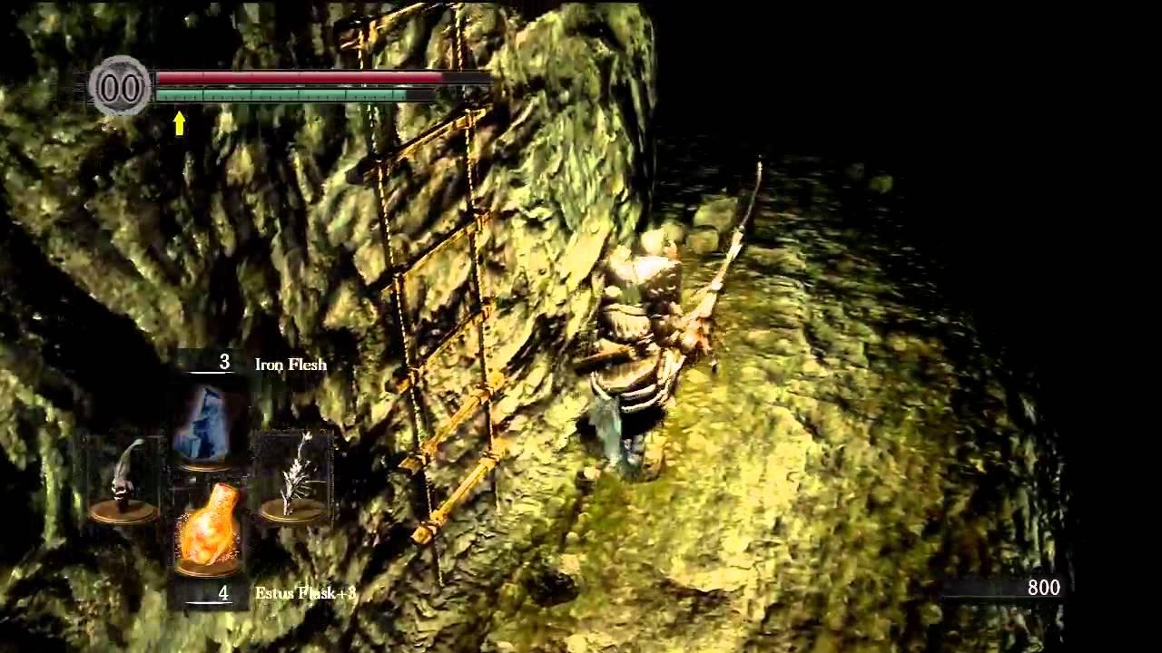 Tomb Of The Giants Bonfire Run Dark Souls Youtube
