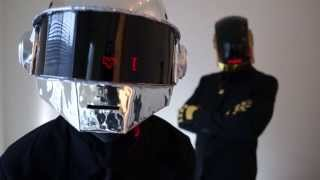 Homemade Daft Punk Costumes (Halloween 2013)