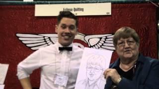 Bonnie's Caricature - Aqs Quiltweek - Phoenix 2014