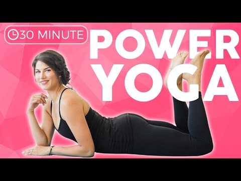 30 minute Full Body Power Yoga Workout | Weight Loss & Toning