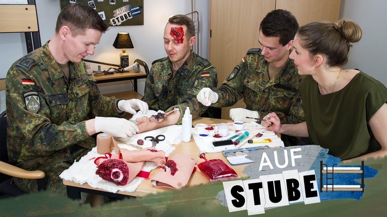 11 Auf Stube: Schminken, um Leben zu retten – die Wunddarsteller ... | {Arzt bundeswehr 96}