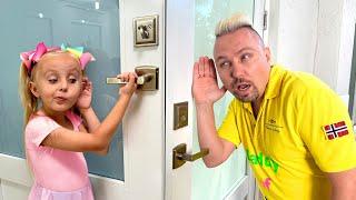 Дети невидимки разыграли папу Сказки для Евы