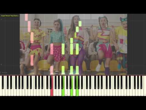 Круче всех - Open Kids ft. Quest Pistols Show(Пример игры на пианино) (piano cover)