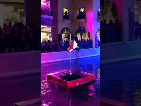 Kristel de Catalina Pole Dance - Valentines 2020 at Venice Grand Canal Mall BGC