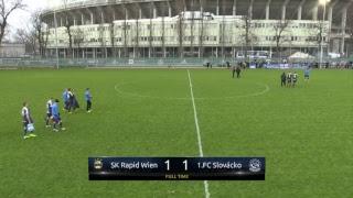 Rapid Wien vs Slovacko full match