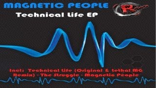 Magnetic People - Technical Life (Lethal MG Remix) (HD) Official Records Mania