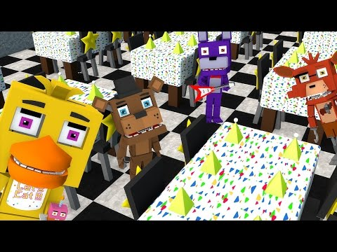 MINECRAFT: CRECHE DE BEBES MONSTROS - NOVOS AMIGOS BEBES FIVE NIGHTS AT FREDDY'S #1