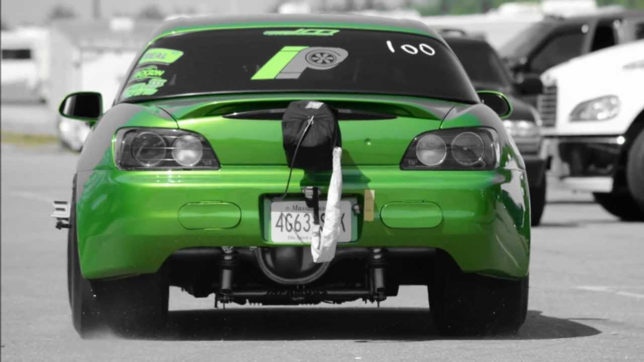 10 second 4g63 s2k turbo s2000 drag race tj 1014