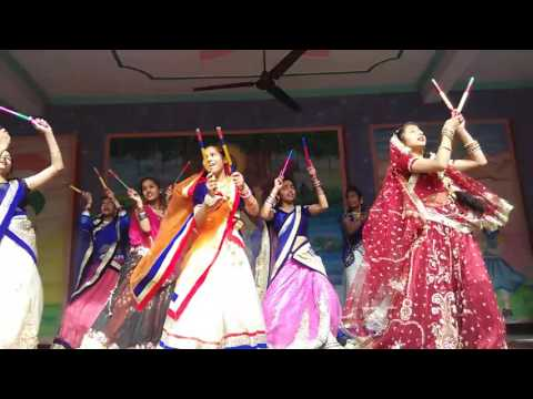Radha kese na jale dance from adarsh gyan sarover balika vidyalaya by mamta rathor