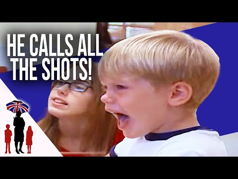 4 Yr Old Rules The House With Aggression & Violence | Supernanny