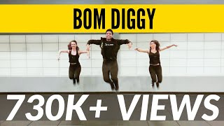 Cover images Bom Diggy | Zack Knight x Jasmin Walia | Bollywood Workout