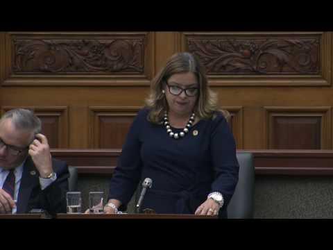 MPP Cristina Martins Calls on Ontario to Recognize the 2015 Paris Climate Agreement 11 17 16