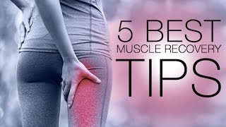 5 Tips to Relieve Workout Soreness (BEST MUSCLE RECOVERY TIPS!!)
