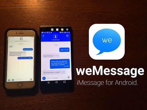 hqdefault Use iMessage on Android with this workaround app Android