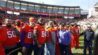 TigerNet.com - Dabo Swinney and players react to being No. 1 In Playoffs