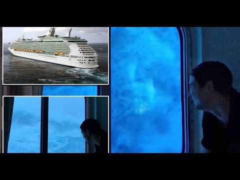 Terrifying Ft Waves Hit Royal Caribbean Cruise Ship YouTube - Cruise ship hits rough seas