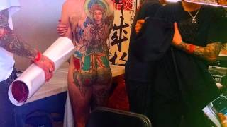 The London tattoo convention 2014