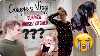 OUR PUPPY'S FIRST DAYS AT HOME | Our New Kitchen?!